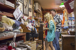 People shopping in the Country Store in Stockbridge, MA