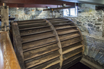 Water wheel at the Slater Mill Historic Site