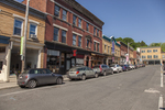 A street in Great Barrington, MA