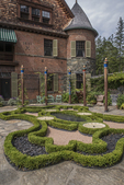 The Afternoon Garden at Naumkeag, a Trustees of Reservations property in Stockbridge, MA