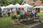 An arts and craft show in Lenox, MA
