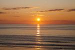 Sunrise at Nauset Beach on Cape Cod