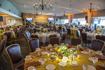 Interior of Pleasant Valley Country Club in Sutton, MA ready for an event