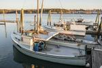 Fishing boats in Freeport, ME harbor