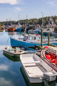 Fishing boats docked at Head Harbor, Campobello Island