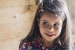 Cute six year old girl