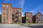 Abandoned buildings that once housed a thriving manufacturing businesses