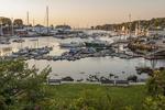 Camden, Maine Harbor at dawn