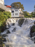Waterfall in Camden, Maine