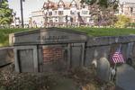 Original gravesite of John Quincy Adams, sixth US President