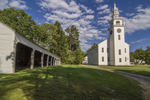 Jaffrey NH Original Meeting House Built 1775