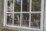 Reflection in a window at Old Sturbridge Village