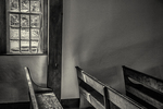 Benches in the Meeting House at Old Sturbridge Village