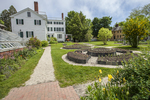 The Goodwin Mansion and Greenhouse at Strawberry Banke Museum, Portsmouth, NH