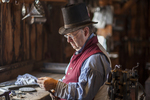 Tinsmith at Old Sturbridge Village, Sturbridge, MA