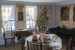 Holiday season at Old Sturbridge Village, Sturbridge, MA