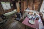 Caretaker's room at Augustus Saint-Gaudens, Cornish, New Hampshire