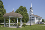 Town Common and Congregational Church, Rindge, NH