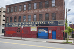 M Goldstein Scrap Metal on Harding Street, Worcester - former location
