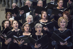 Worcester Chorus performing at the Worcester Art Museum