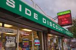 East Side Discount Liquors, Shrewsbury Street, Worcester, MA