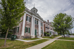 A beautiful town in the Berkshires and the home of Tanglewood - Lenox, Massachusetts. The Lenox Public Library.