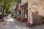Shops along the street - Stockbridge, MA