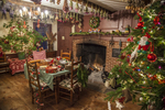 Kitchen at Christmas time