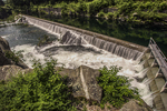 The Quabbin Reservoir Spillway in Belchertown, MA
