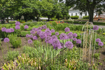 A garden at Andrews Greenhouse in South Amherst, MA