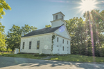 The Friends Meeting House in Wendell, MA