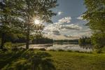 Harvard Pond, Petersham, MA late afternoon