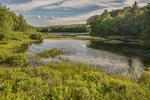 Stone Bridge Pond in Templeton, MA