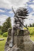 Indian statue at Fruitlands Museum