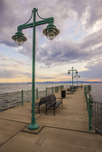 Lake Champlain, Burlington, Vermont at sunset