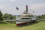 The Ticonderoga, a steam ship at the Shelburne Museum