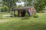 A small visitor center in Groton, MA