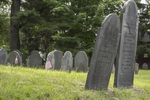 The Old Burying Ground in Groton, Massachusetts