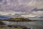 Nubble Light in York, Maine (Cape Neddick Light)