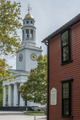 The Wright Tavern in Concord, MA - Minuteman Headquarters, April 19, 1775