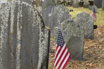 The South Burying Ground on Main Street in Concord, MA