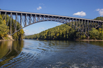 The French King Bridge spans the Connecticut River in Erving, MA #2