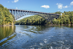 The French King Bridge spans the Connecticut River in Erving, MA #3