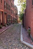 Acorn Street on Beacon Hill in Boston, MA