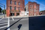 Main Street Antiques building in Orange, Massachusetts