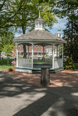 Band Stand on The Common in Grafton, MA