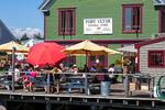 Dockside Dining in Port Clyde