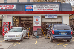 Repair garage on Highland Street in Worcester, MA