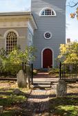 Christ Church in Harvard Square, Cambridge, MA