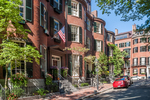 Louisburg Square on Beacon Hill in Boston, MA